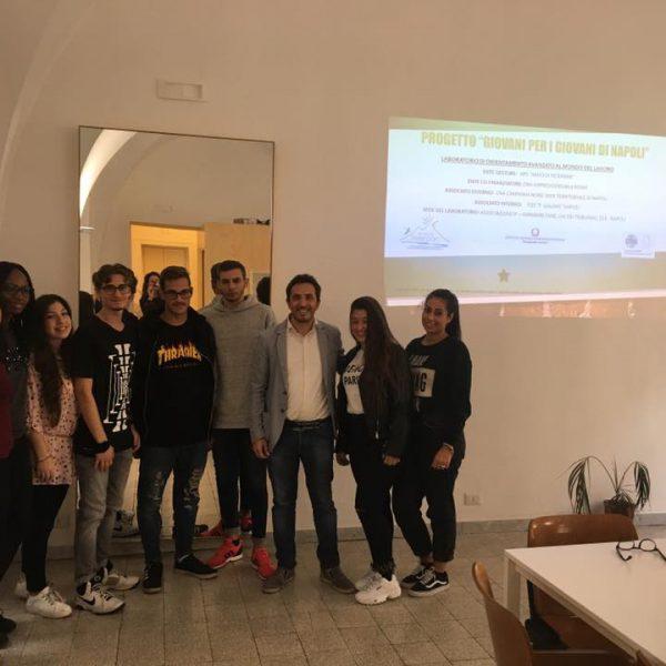 Napoli, Abbac con i giovani napoletani che intendono inserirsi nel lavoro turistico