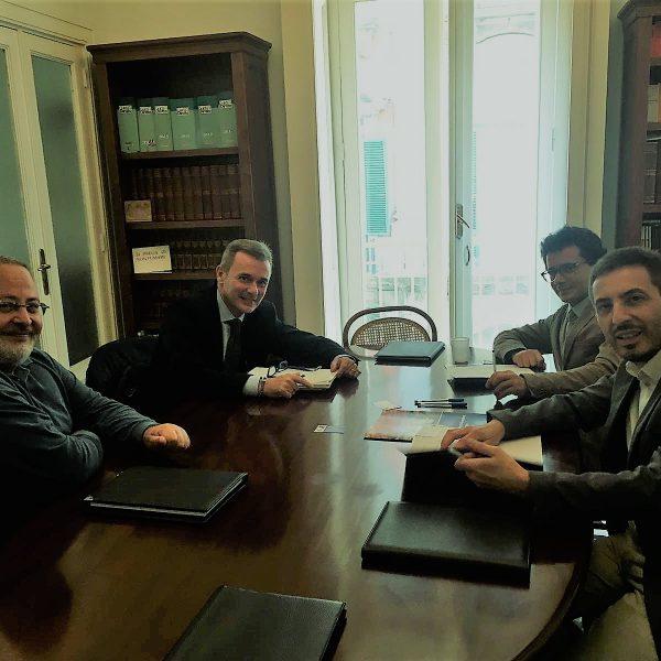 Canone Speciale Rai, il presidente Abbac ha incontrato nella nostra sede il responsabile nazionale Direzione Canone Rai e il referente regionale Izzo