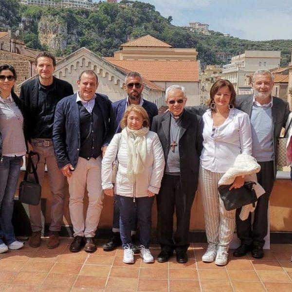 Sorrento, una delegazione Abbac incontra l'Arcivescovo