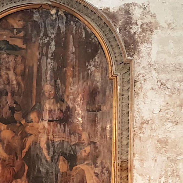 Napoli, infiltrazioni e danni a tela seicentesca, Abbac chiede conto al Comune e avvia sottoscrizione per restauro