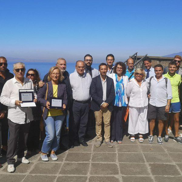 Piano di Sorrento, per la festa del turismo, L'Abbac premia alcuni gestori e il Comune