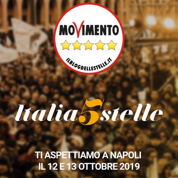 Italia a 5 stelle, l'Abbac sottoscrive convenzione per garantire ospitalità ai partecipanti dell'evento a Napoli il 12 e 13 ottobre
