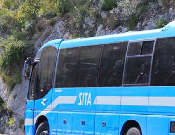 Costiera Amalfitana,  trasporto pubblico, frana a Maiori, ecco il calendario delle corse Sita