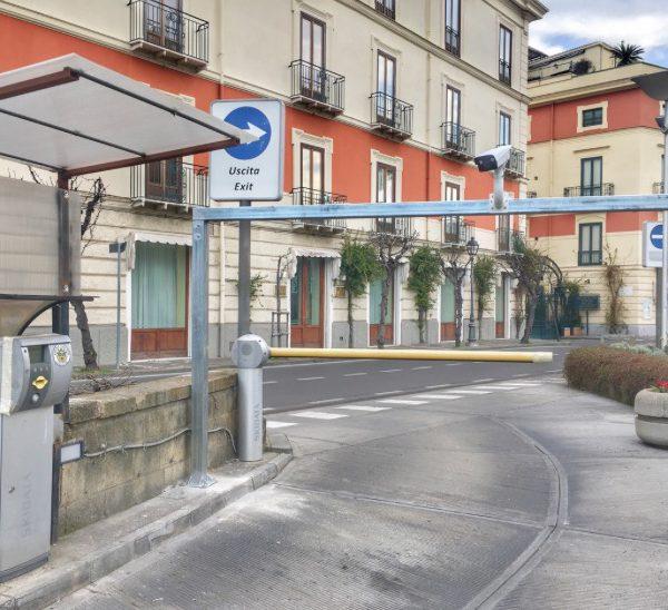Sorrento, il parcheggio comunale Lauro diventa smart