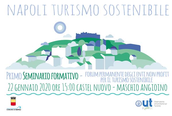 Turismo sostenibile, a Napoli un seminario formativo mercoledì 22 gennaio