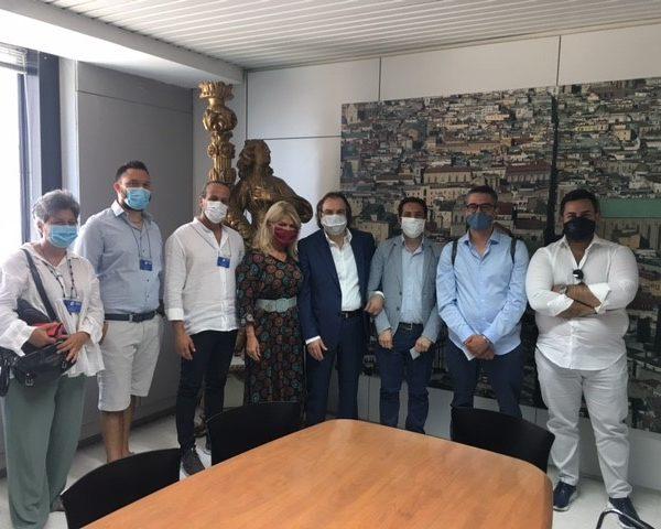 I delegati Abbac in visita all'Agenzia regionale Campania Turismo, sinergia per legalità e qualità dell'extralberghiero e iniziative condivise per lo sviluppo turistico