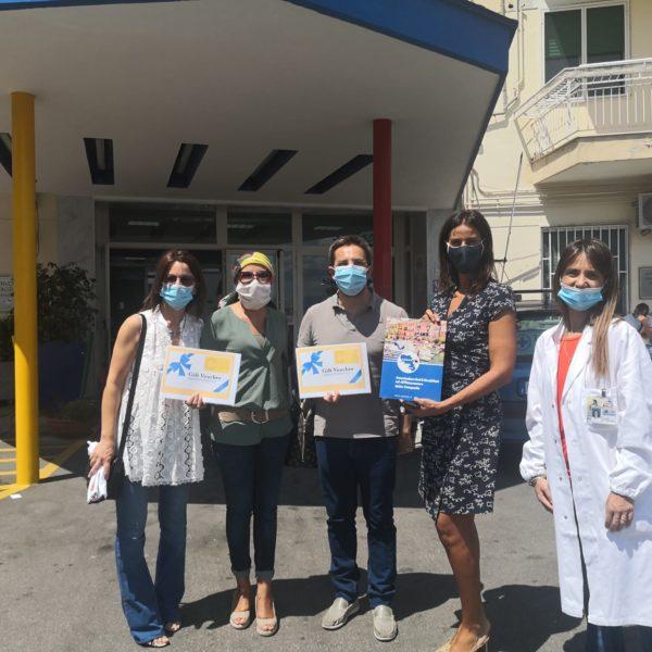 Napoli, l'Abbac dona materiale anticovid e ospitalità gratuita per parenti e piccoli pazienti del Pausillipon Santobono