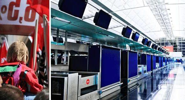 Trasporto aereo, indetto uno sciopero generale il 6 luglio. Abbac aggiorna con calendario scioperi, tratte previste e spiega come ricevere risarcimenti