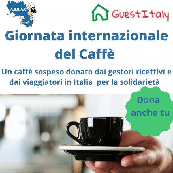 """Giornata Internazionale del Caffè, gestori e viaggiatori offrono caffe sospesi. Lanciata una raccolta fondi per punti """"colazione solidale"""""""