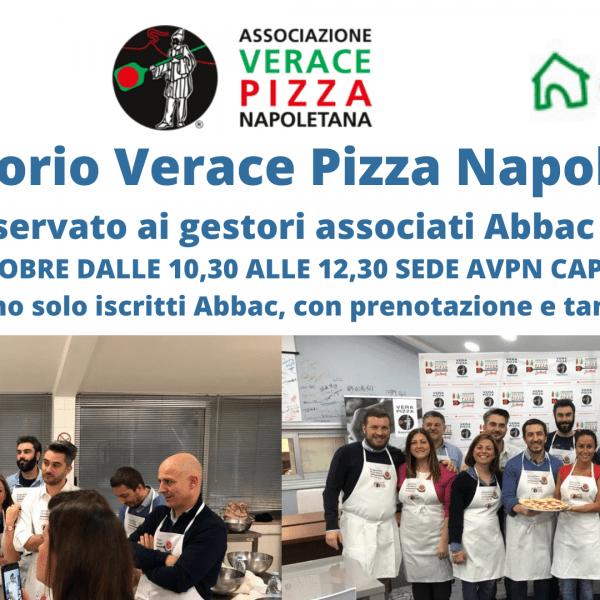 Pizzaiolo per un giorno, al via l'iniziativa Abbac Associazione Verace Pizza Napoletana, lunedì 11 ottobre primo laboratorio