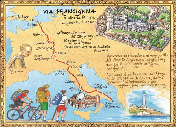Via Francigena,  opportunità per le strutture ricettive per inserirle nel percorso